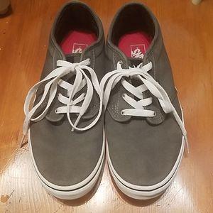 Vans youth size 6 dark gray